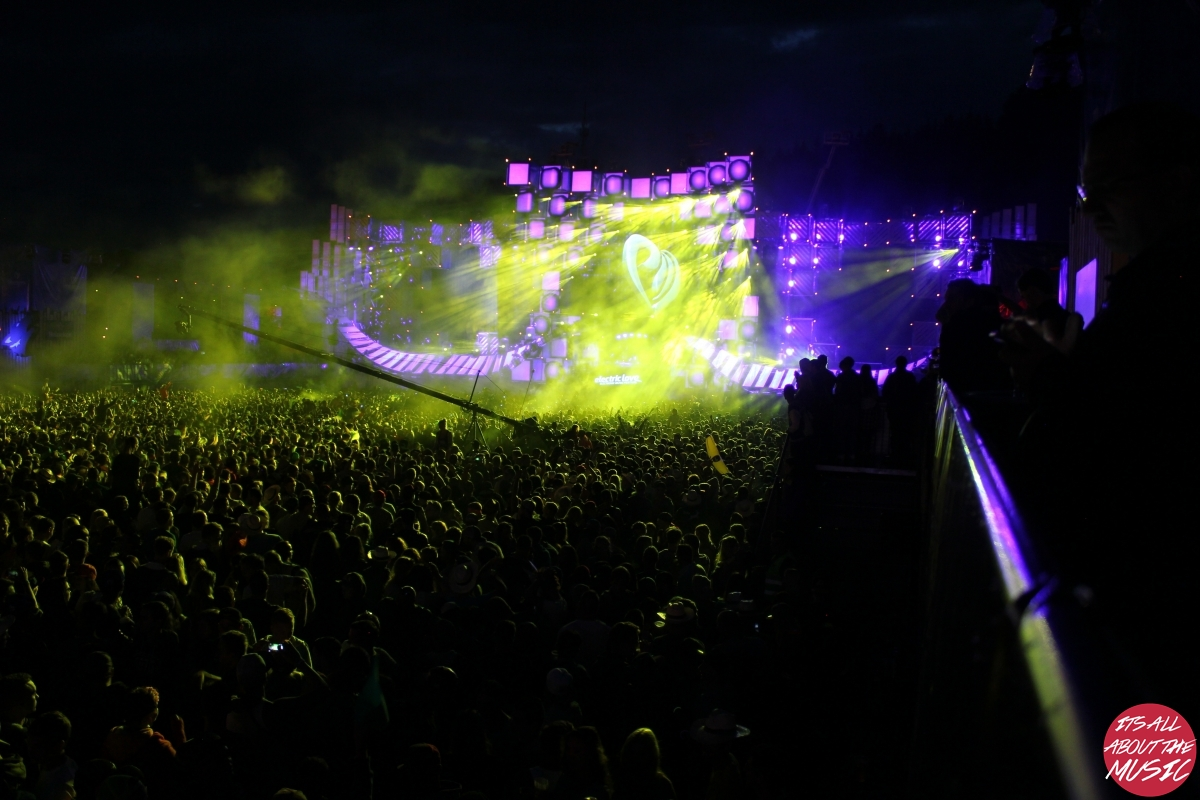 Mainstage Electric Love Festival 2015 Donnerstag