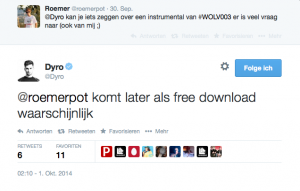 Dyro confirmes Intrumental Version to be released