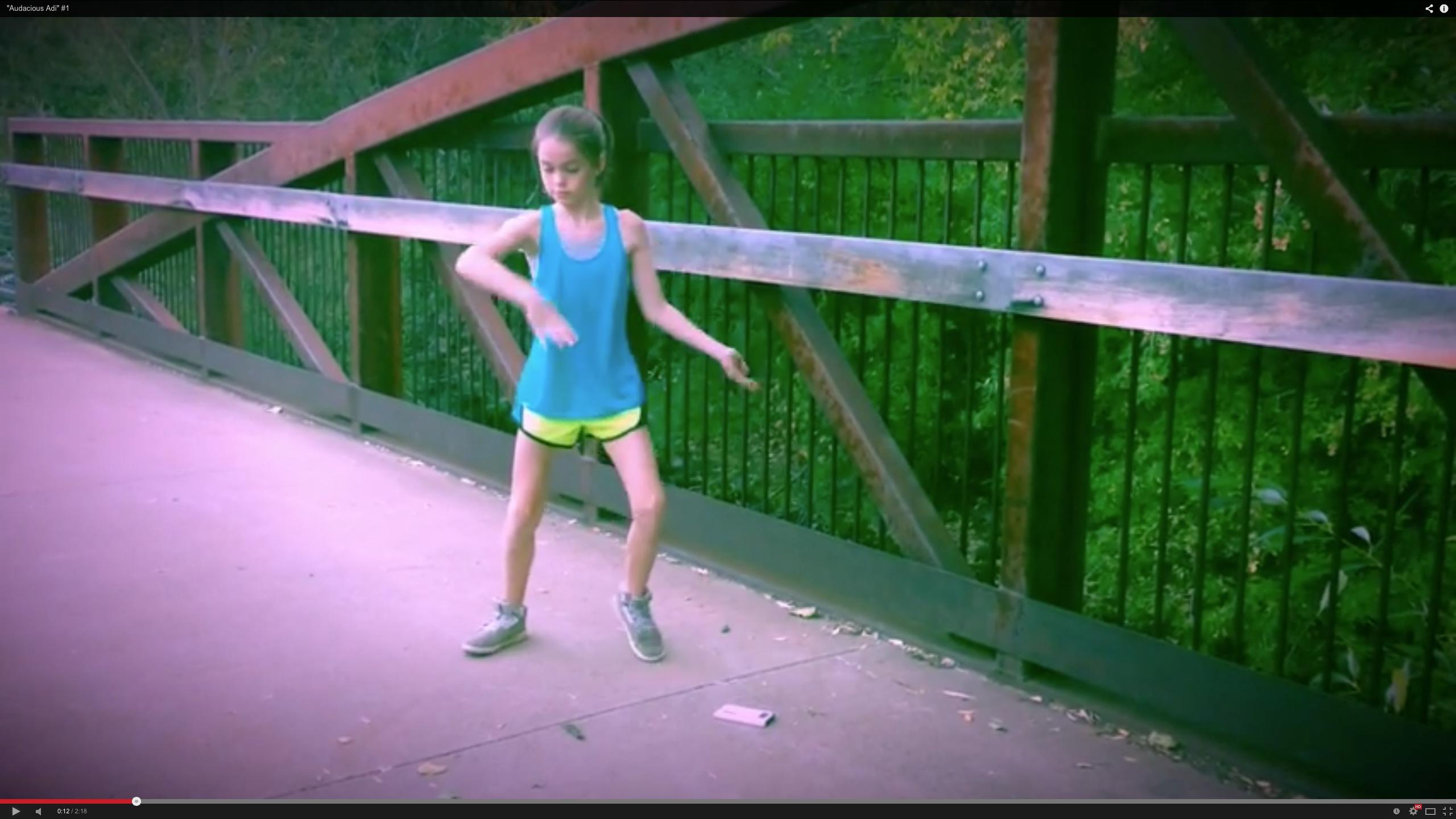 11-Jährige zeigt unglaublichen Dubstep-Dance