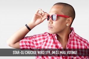 dj chuckie wird nur 119.