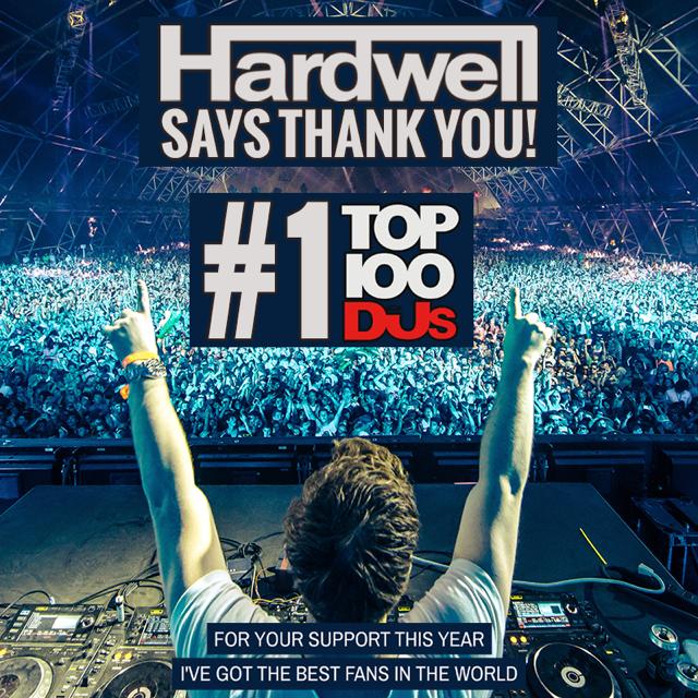 Hardwell verteidigt seinen DJ-Thron – #1 DJ Mag Top 100