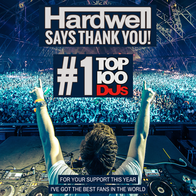 Hardwell No. 1 DJ MAG