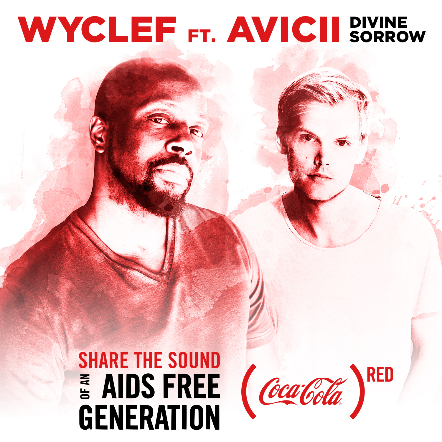 coca cola red featuring wyclef jean avicii