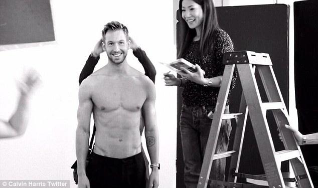 Calvin Harris wird das Gesicht von Armani-Mode