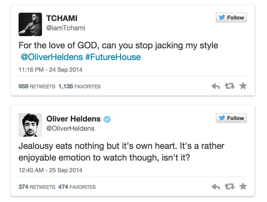Tchami heldens twitter beef