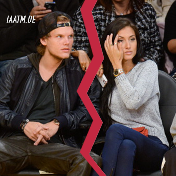 avicii raquel bettencourt alles aus schluss vorbei trennung couple split up relationship beziehung single