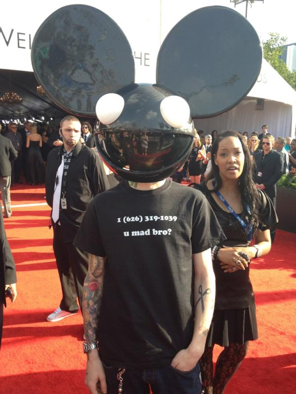 deadmau5 t shirt number skrillex grammy