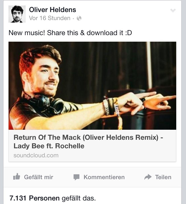 Oliver Heldens Return Of The Mack Download Official File Song Music Future House