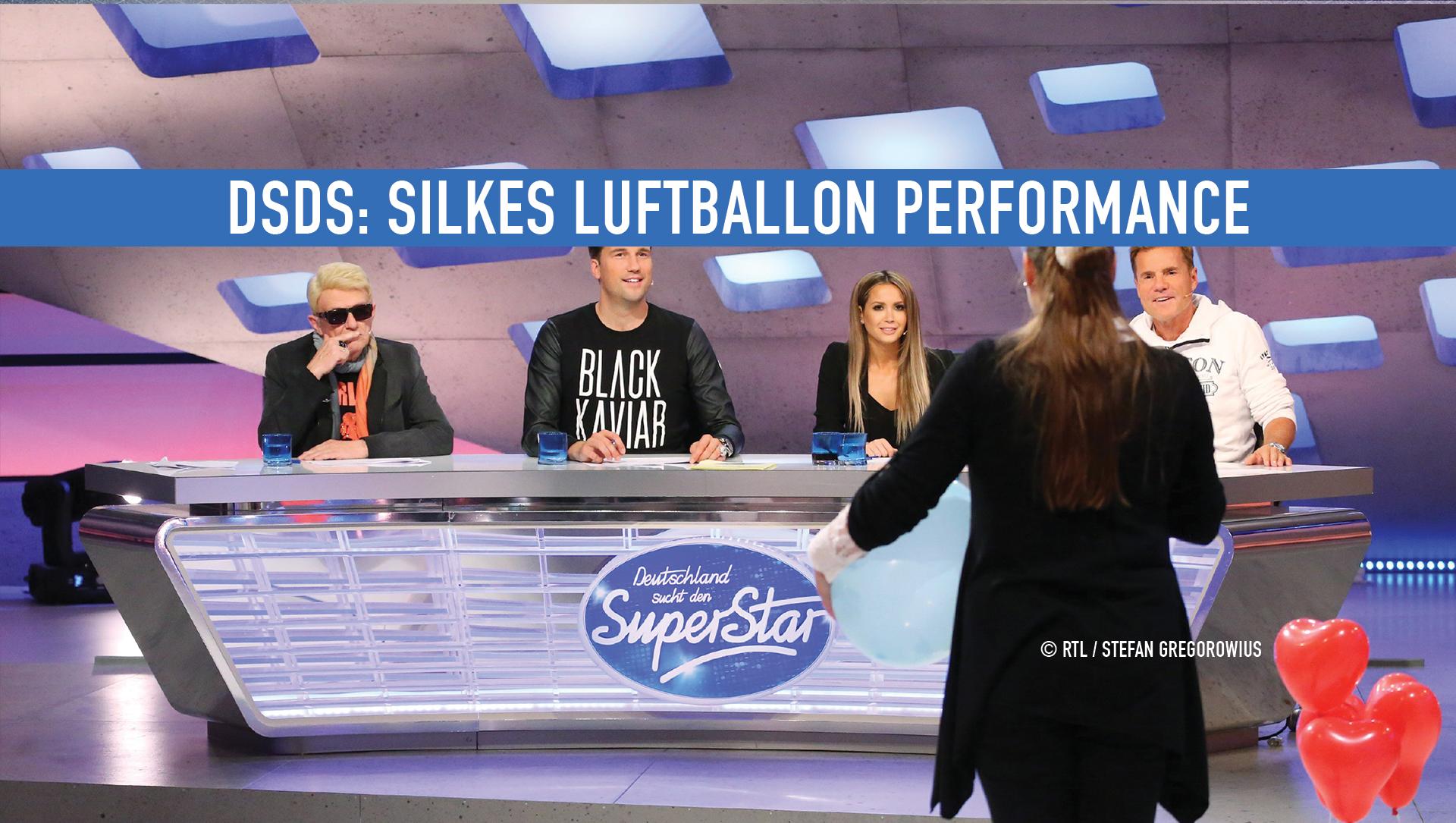 dsds silke 99 luftballons performance jury heino dieter bohlen mandy dj antoine