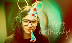 Skrillex Geburtstag