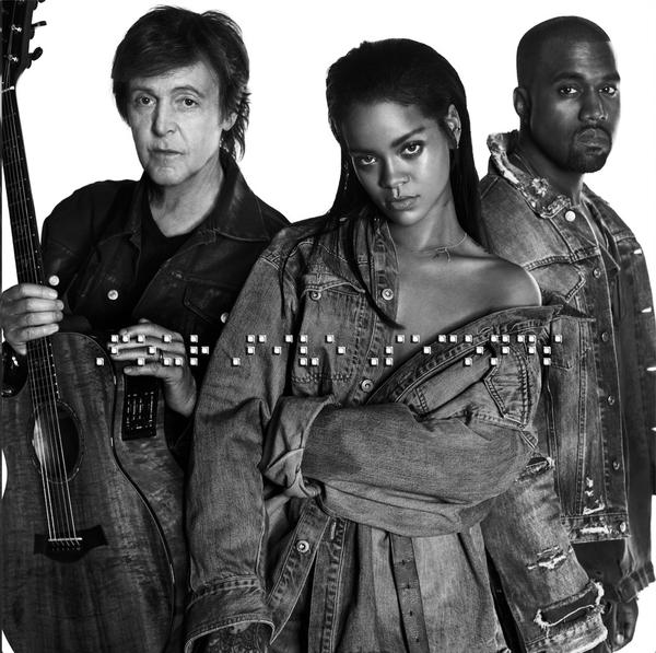 TRACK DER WOCHE: Rihanna, Kanye West, Paul McCartney – Four Five Seconds