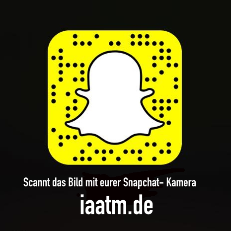 IAATM auf SNAPCHAT: Exlusive Bilder, Videos, Partys & Previews