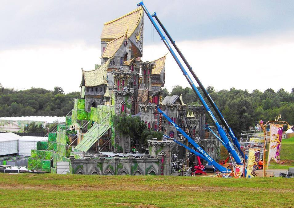 Tomorrowland 2015 Stage Spoiler Pics