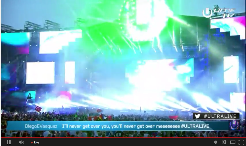 Ultra Music Festival Europe 2015 Livestream (Video)