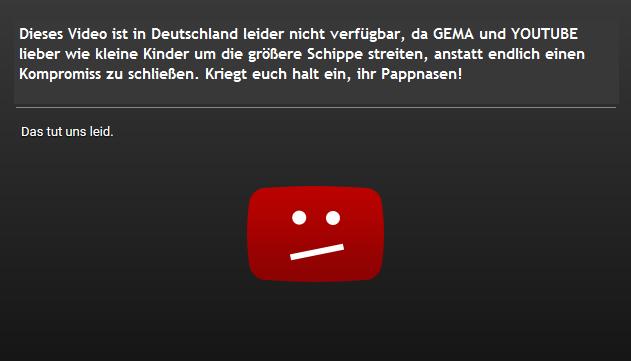 GEMA verliert Gerichtsprozess gegen YouTube