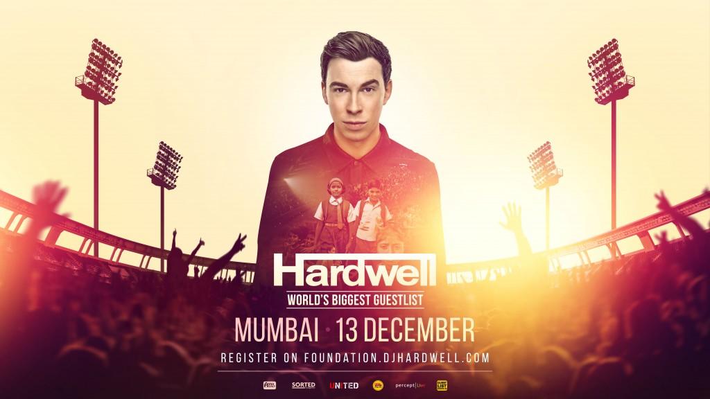 Hardwell, Indien, Weltrekord, Charity