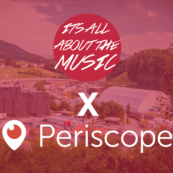 Electric Love Festival Livestream mit IAATM x Periscope!