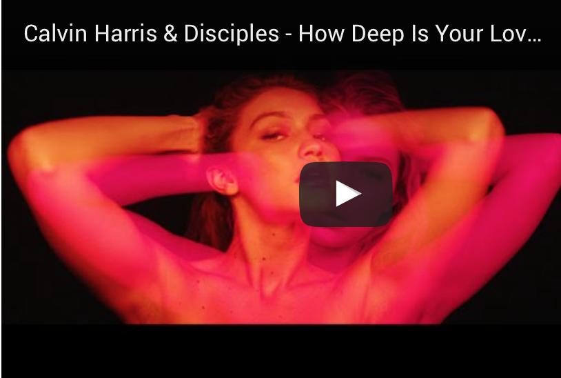 Calvin Harris zieht das Model Gigi Hadid an Land