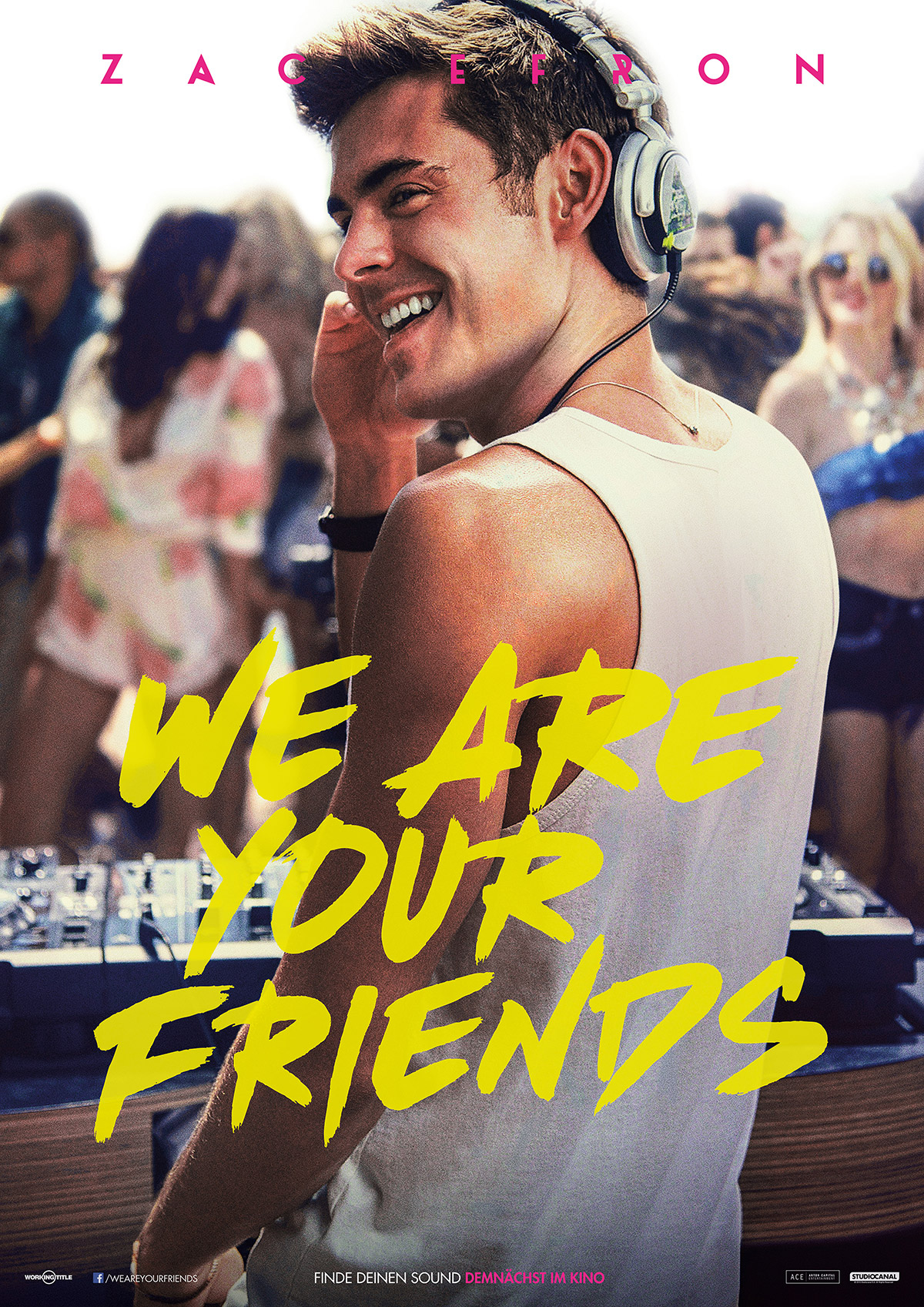 We Are Your Friends Plakat Zac