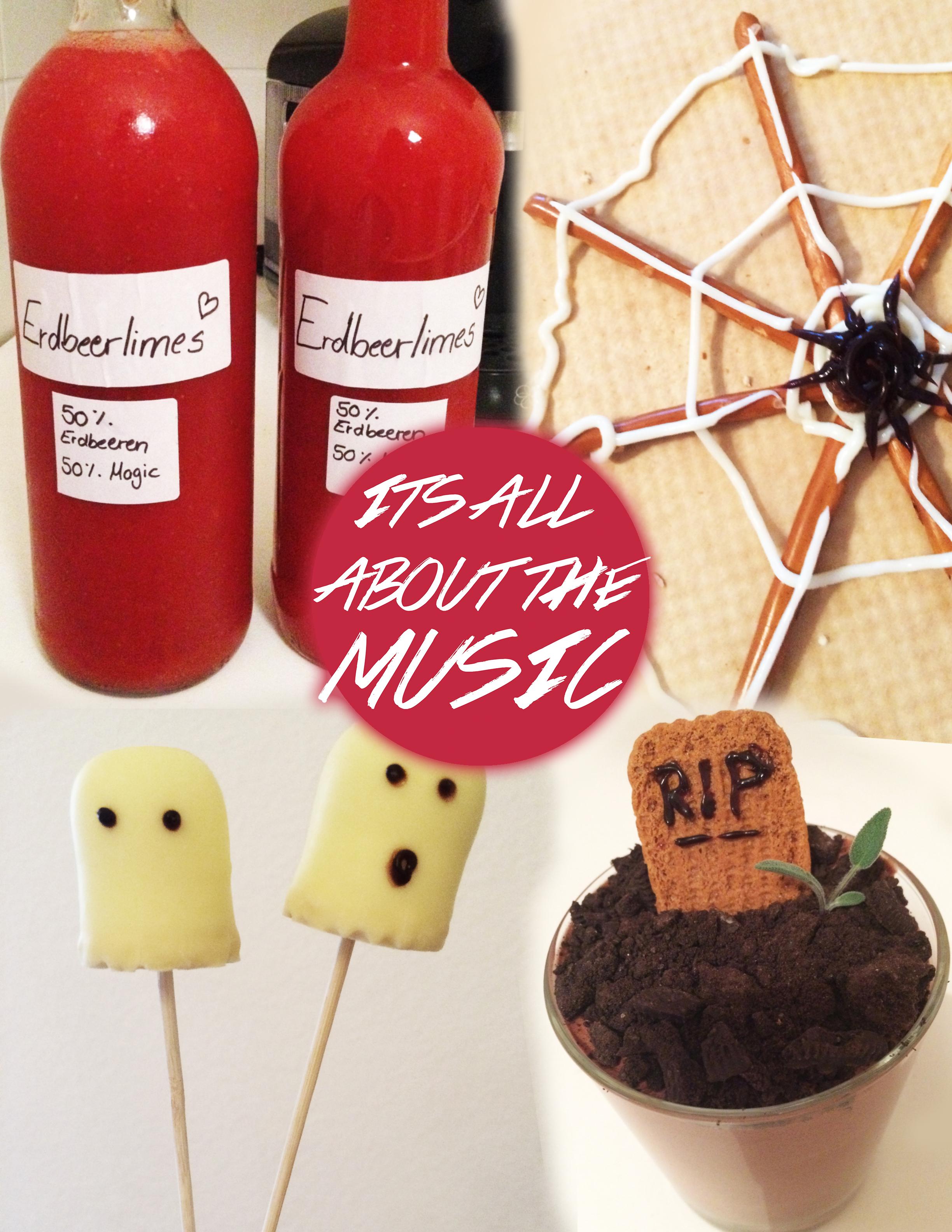 Die perfekte Halloween Party – 4 Snacks zum Selbermachen