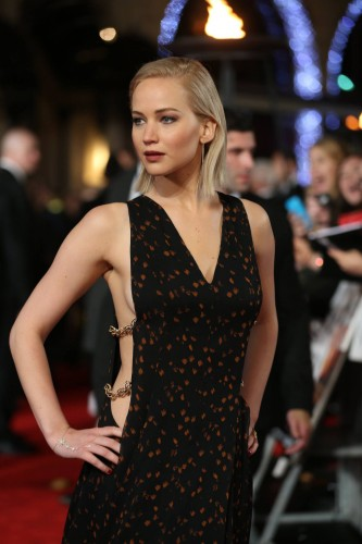 Jennifer Lawrence Hunger Games Premiere