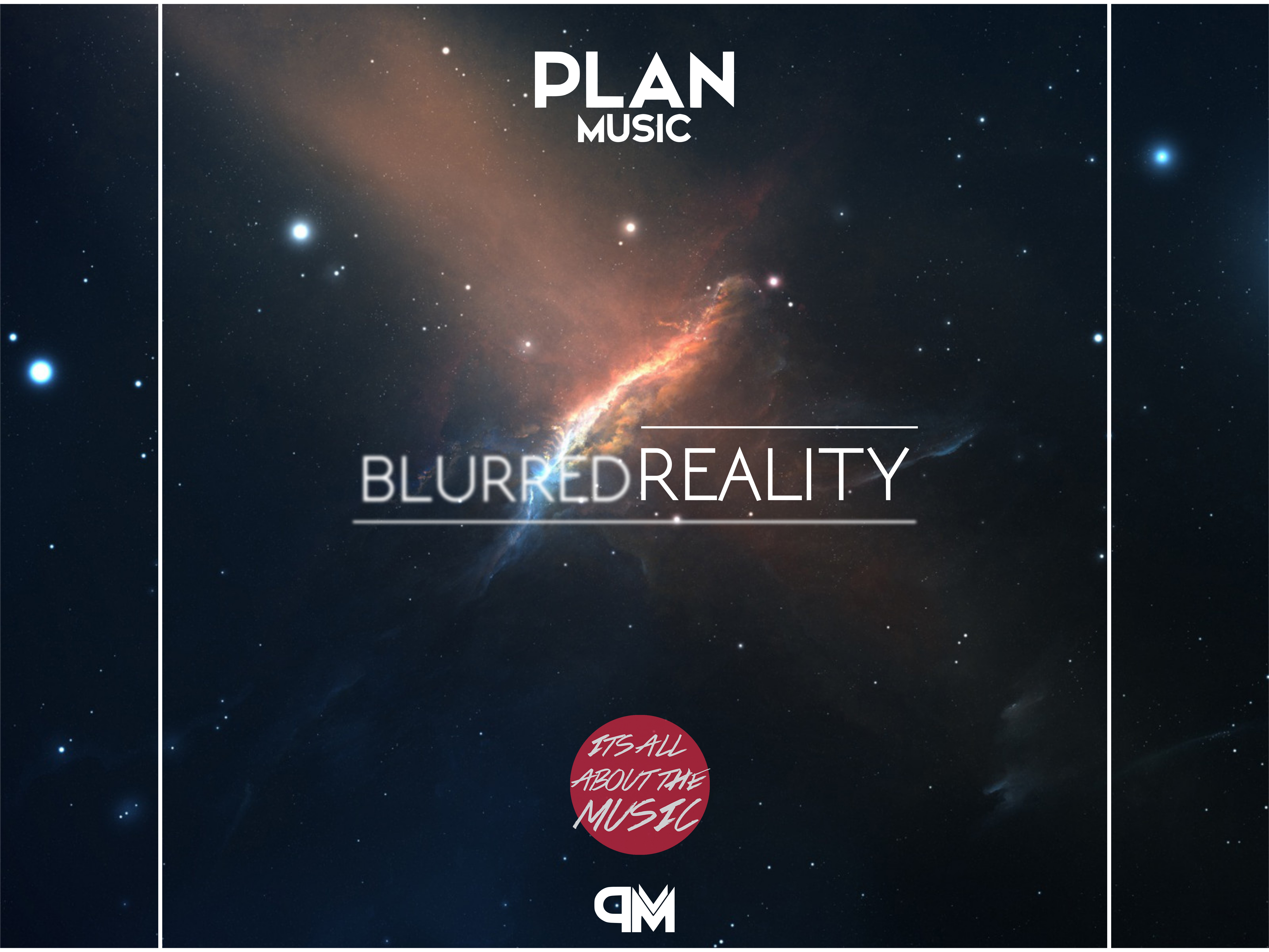 PlanMusic - Blurred Reality Cover