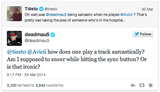 Screenshot Deadmau5 vs Tiesto