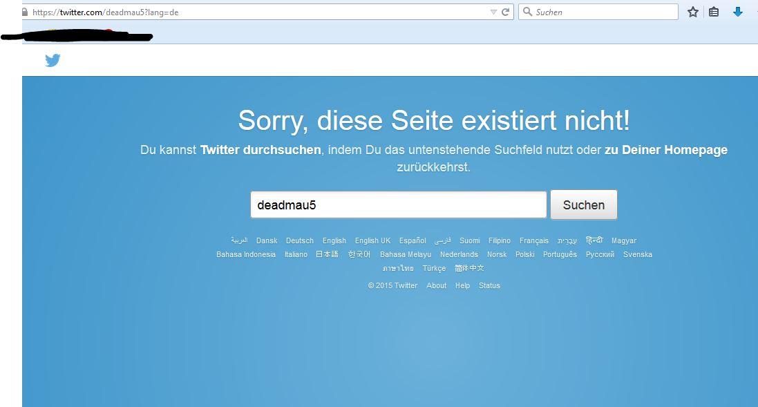 Deadmau5 löscht Facebook / Twitter Kanäle