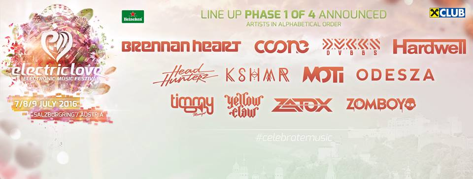 LINE UP PHASE 1