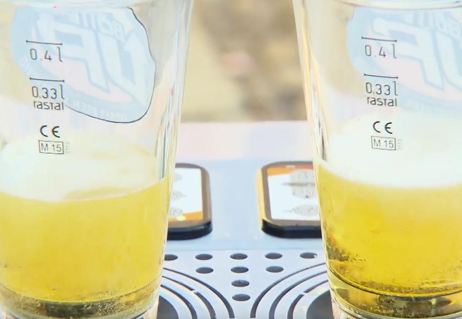 Diese Bierzapfanlage könnte Festivals revolutionieren