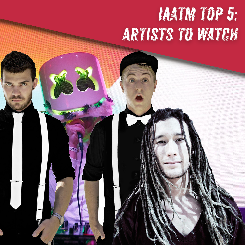 top5-artists 2016 iaatm