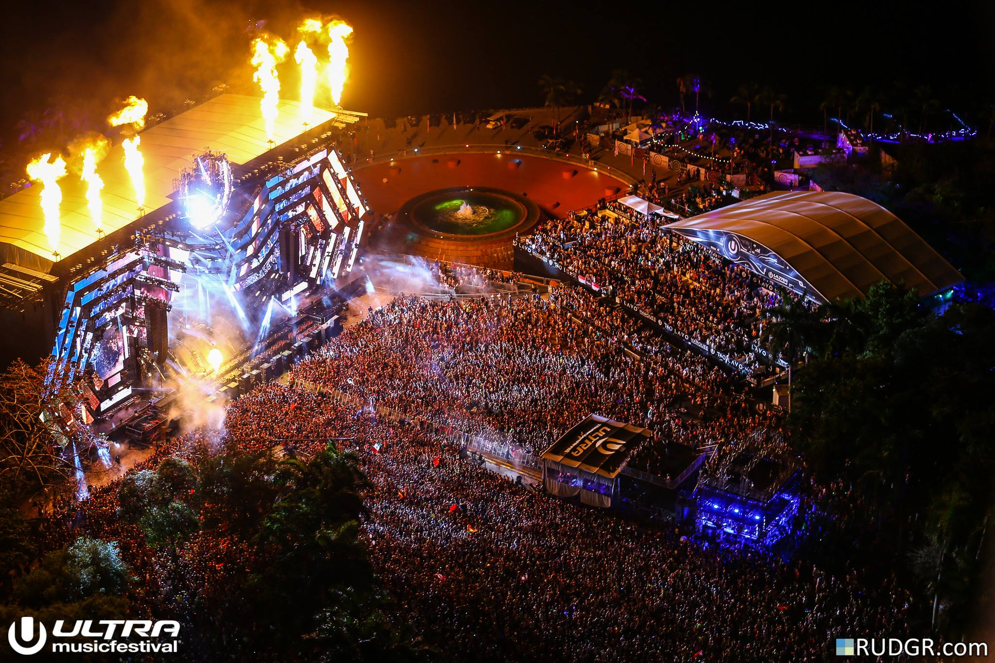 UMF 2016 Mainstage Overview Ultra Music Festival