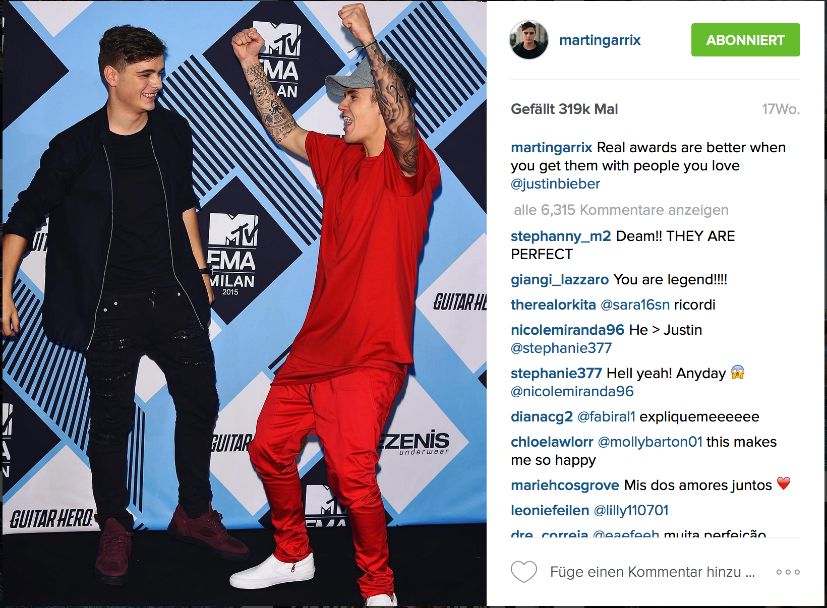 Martin Garrix Justin Bieber collab