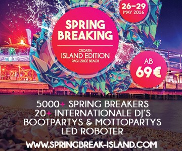 Mit IAATM zum Spring Break mit Alle Farben nach Kroatien!