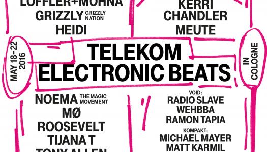 Telekom Electronic Beats Festival 2016 in Köln + Gewinnspiel