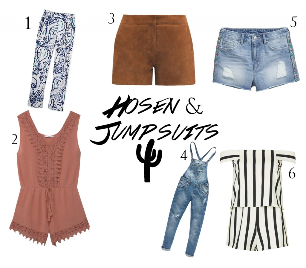 Hosen u Jumpsuits Coachella Wishlist
