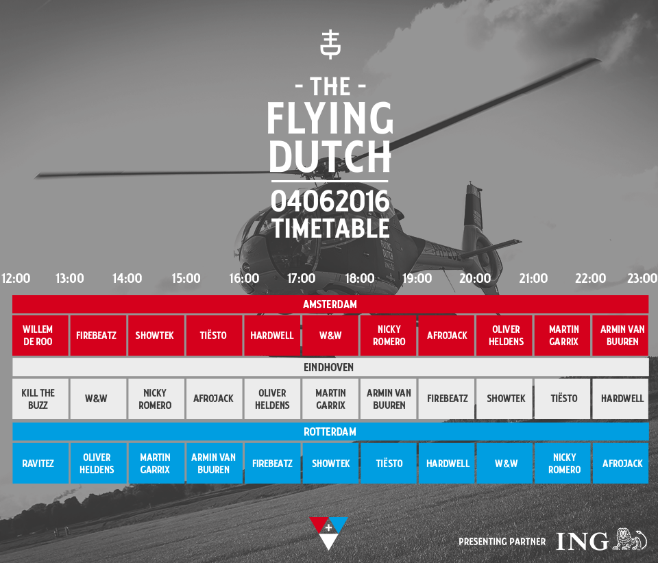 Timetable 2016
