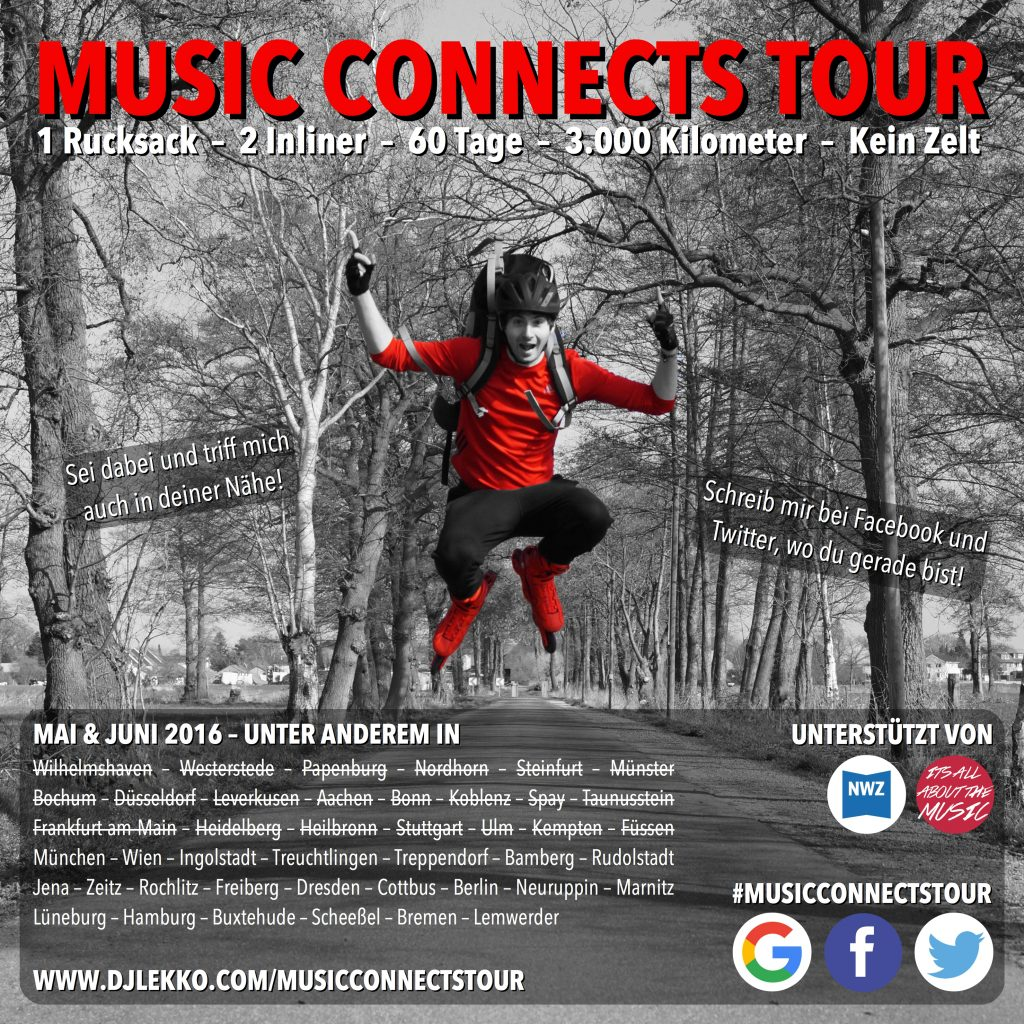 Music connects tour