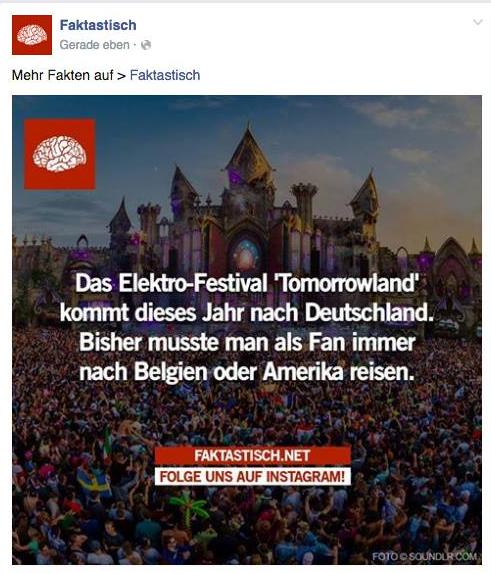 Faktastisch Tomorrowland
