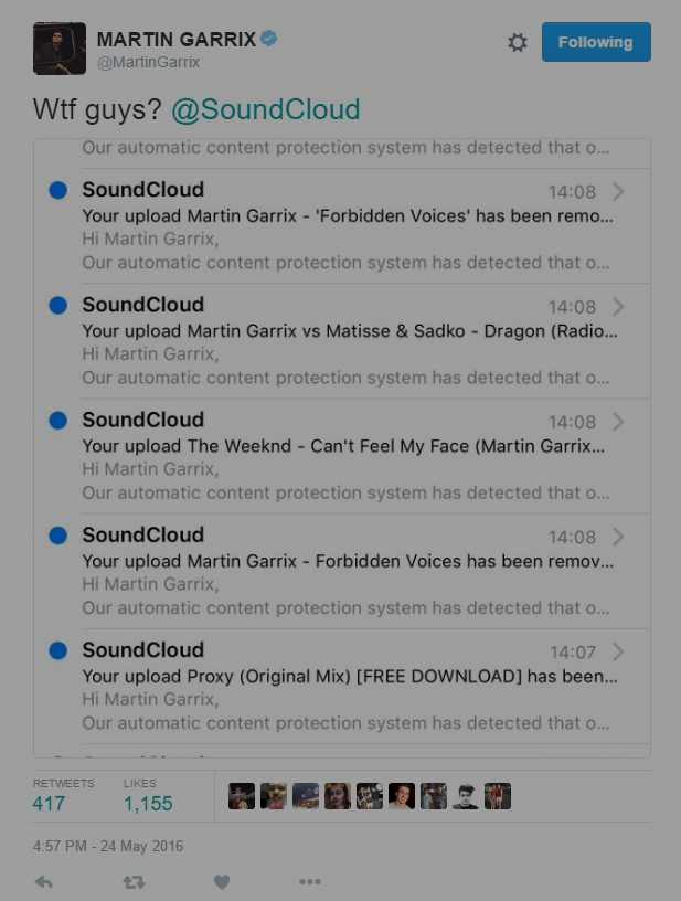 martin garrix soundcloud tweet wtf vorschau