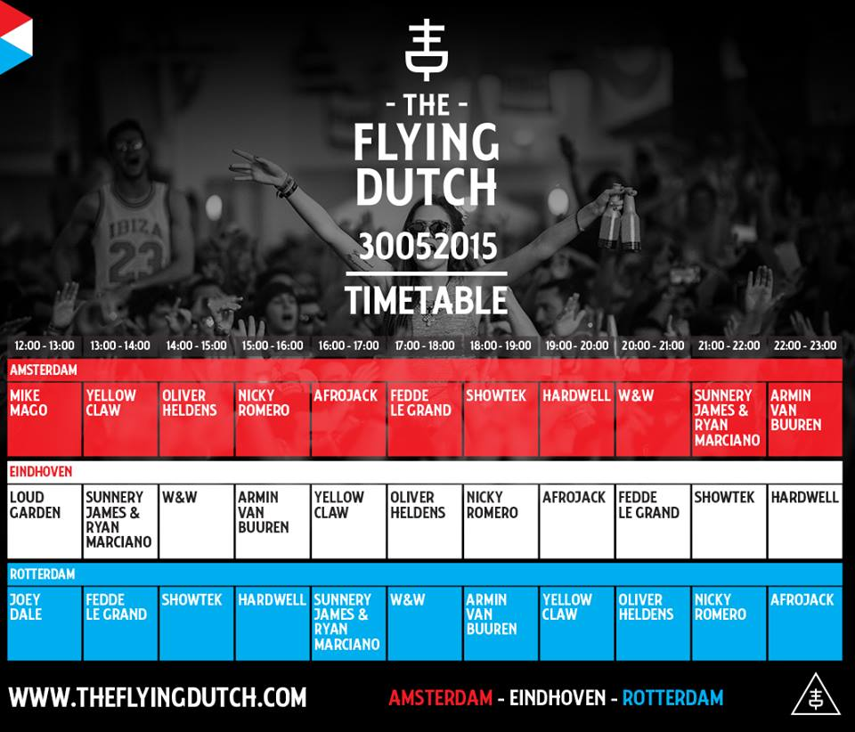 Timetable 2015