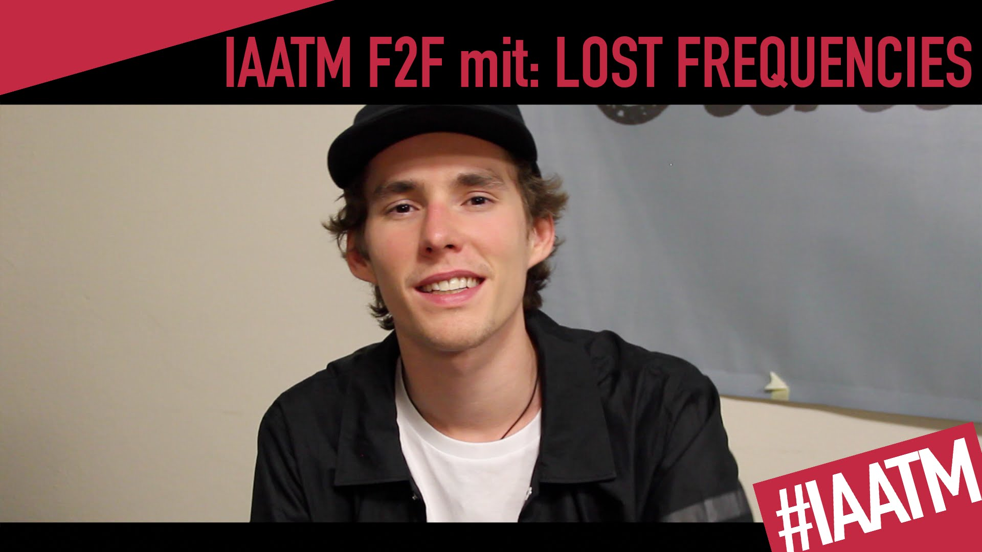 Lost Frequencies IAATM TV INTERVIEW
