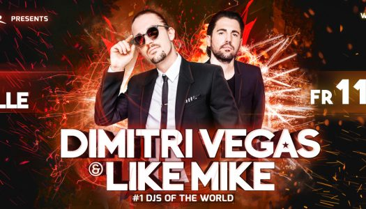 Dimitri Vegas & Like Mike – Stadthalle Wien Ticket Gewinnspiel