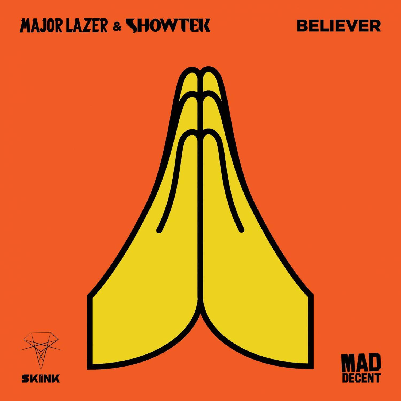 Major Lazer und Showtek neue Single Believe