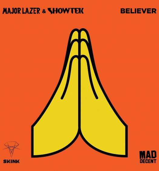Major Lazer und Showtek neue Single Believe