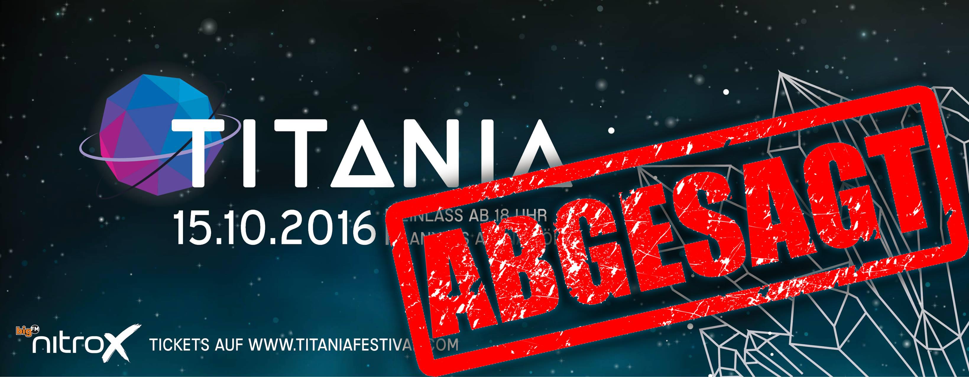 cts eventim titania festival abgesagt
