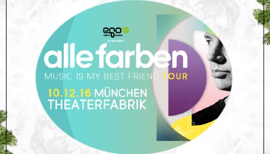 Türchen 3 – Tickets für Alle Farben in München