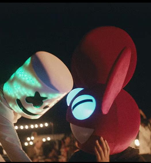 Marshmello Ritual official music video deadmau5