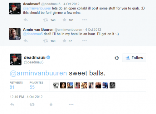 Deadmau5 / Armin Collab