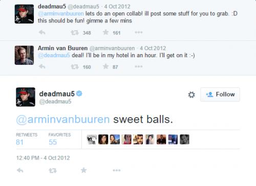 Deadmau5 / Armin Collab